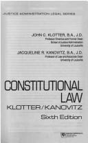 Download Constitutional law
