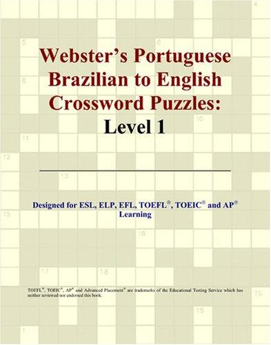 Webster's Portuguese Brazilian to English Crossword Puzzles