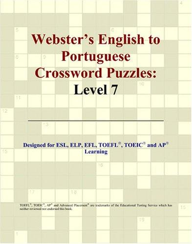 Webster's English to Portuguese Crossword Puzzles