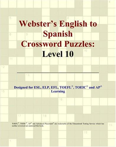 Download Webster's English to Spanish Crossword Puzzles