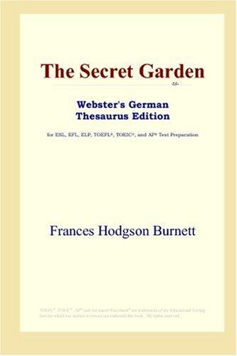 Download The Secret Garden (Webster's German Thesaurus Edition)