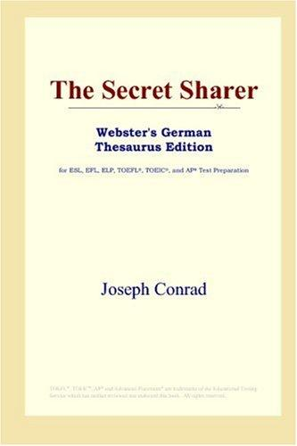Download The Secret Sharer (Webster's German Thesaurus Edition)