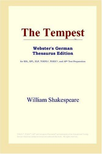The Tempest (Webster's German Thesaurus Edition)