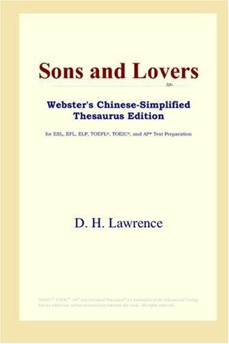 Sons and Lovers (Webster's Chinese-Simplified Thesaurus Edition)
