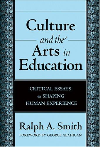 Download Culture And the Arts in Education