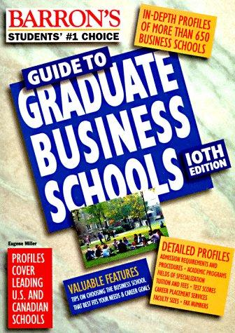 Download Barron's Guide to Graduate Business Schools