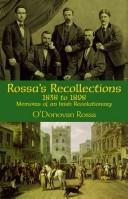 Rossa's recollections, 1838-1898