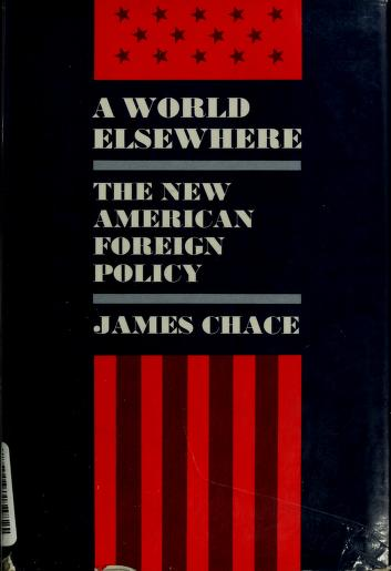 Cover of: A world elsewhere | James Chace