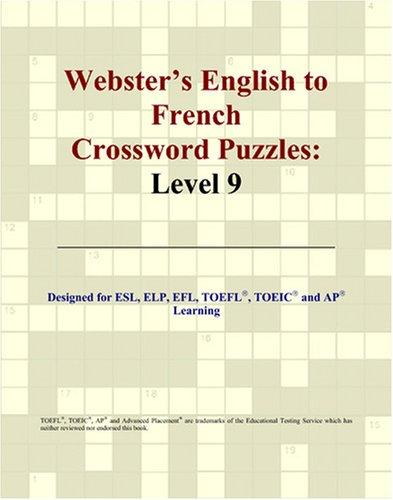 Webster's English to French Crossword Puzzles