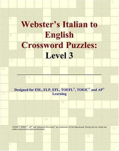 Webster's Italian to English Crossword Puzzles