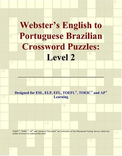 Webster's English to Portuguese Brazilian Crossword Puzzles