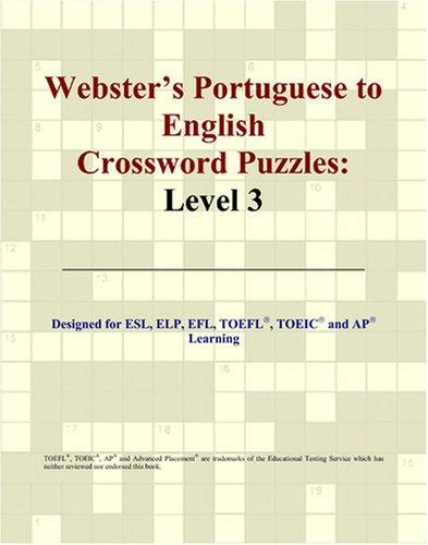 Webster's Portuguese to English Crossword Puzzles