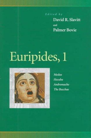 Euripides, 1 by Daniel Mark Epstein