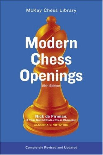 Image 0 of Modern Chess Openings, 15th Edition