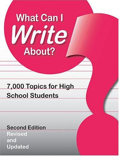 What Can I Write About by David Powell